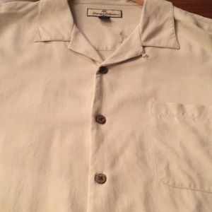 Men's silk shirt by Tommy Bahama